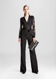 DIANE von FURSTENBERG Wrap Jumpsuit - Bloomingdale's Exclusive Margot Lace