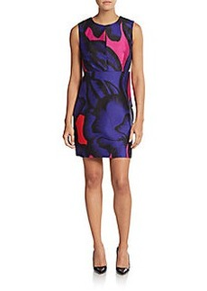 Diane von Furstenberg Yvette Cotton & Silk Dress