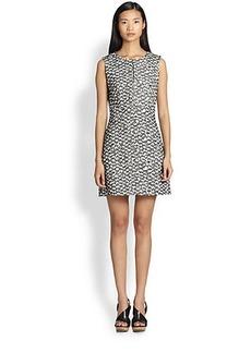 Diane von Furstenberg Yvette Tweed Dress