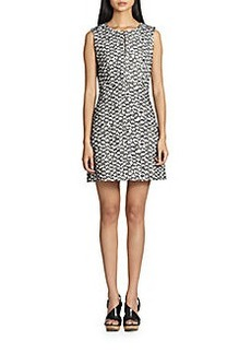 Diane von Furstenberg Yvette Tweed Dress