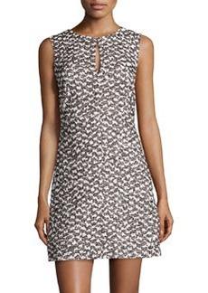 Diane von Furstenberg Yvette Tweed Sleeveless Dress