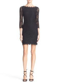 Diane von Furstenberg 'Zarita' Lace Sheath Dress