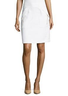 Diane von Furstenberg Zipper Pocket Pencil Skirt