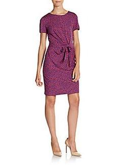 Diane von Furstenberg Zoe Printed Jersey Dress