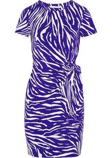 Diane von Furstenberg Zoe printed stretch-jersey dress