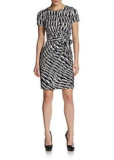 Diane von Furstenberg Zoe Silk-Jersey Dress