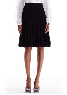 DVF Addyson Pleated Chiffon Skirt