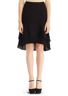 DVF Catherine Chiffon Skirt