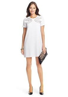 DVF Cecilia Cutout Shift Dress