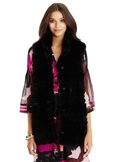 DVF Colby Fur Vest