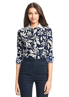 DVF Dean Printed Cotton Blouse