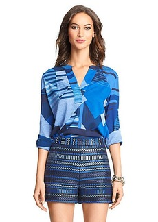 DVF Esti Relaxed Silk Blouse