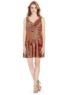 DVF Eugenia Embellished Shift Dress
