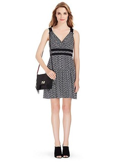 DVF Eugenia Silk Shift Dress