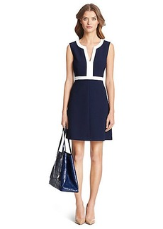 DVF Fleur Ceramic A-Line Dress