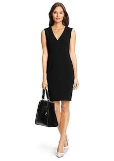 DVF Isobel Stretch Crepe Sheath Dress