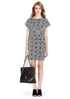 DVF Jenna Silk Shift Dress