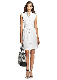 DVF Josie Cotton Shirt Dress