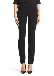 DVF Julie Stretch Crepe Straight Leg Pant