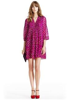 DVF Layla Chiffon Tunic Dress