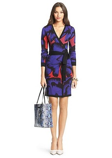 DVF Leandra Wool Wrap Dress