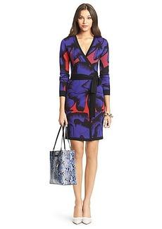 DVF Leandra Wool Wrap Dress