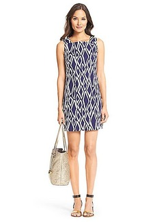 DVF Lottie Cotton Shift Dress