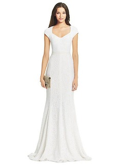 DVF Maio Lace Gown