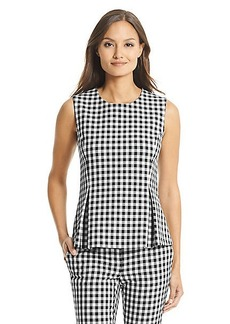 DVF Mallorie Ceramic Pleated Top