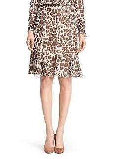 DVF Maud Chiffon Flirty Skirt