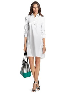 DVF Memphis Cotton Shirt Dress