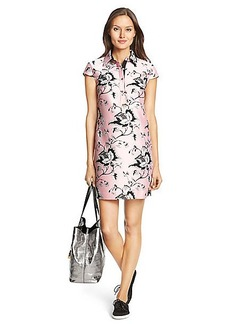 DVF Morgan Raw Silk Tunic Dress