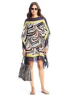 DVF Murray Chiffon Cover Up Dress
