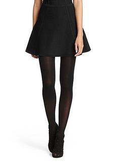 DVF Nellie Flare Knit Skirt
