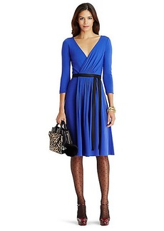 DVF Seduction Wool Wrap Dress