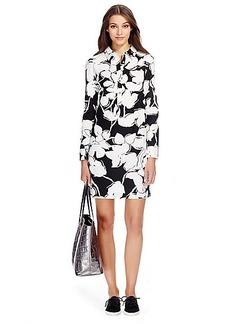 DVF Taffy Cotton Shirt Dress