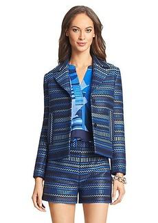 DVF Teyona Woven Jacket