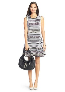 Eleanor Knit Fit and Flare Dress