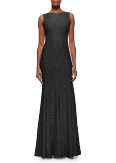 Evangelina Scoop-Back Lace Gown   Evangelina Scoop-Back Lace Gown