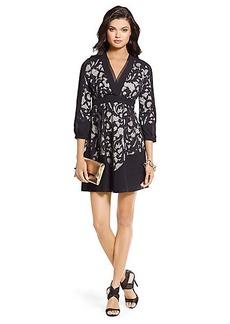 Fern Two-Toned Lace Dress