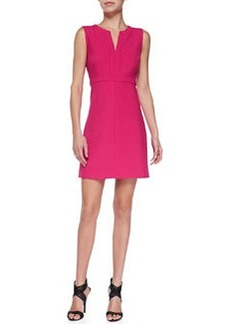 Fleur Split-Neck Ponte Dress   Fleur Split-Neck Ponte Dress