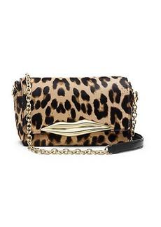 Flirty Mini Leopard Haircalf Crossbody Bag