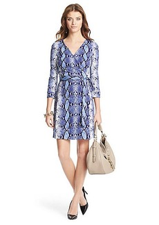 Heritage New Julian Two Mini Silk Jersey Wrap Dress