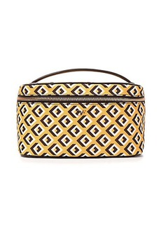 Heritage Print Large Cosmetic Train Case