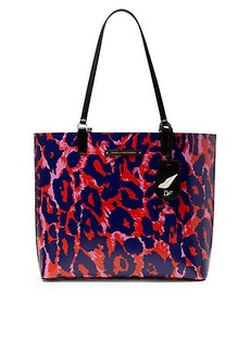 Heritage Print Leather Ready To Go Tote
