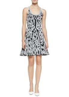 Ilsa Fit-and-Flare Sleeveless Dress   Ilsa Fit-and-Flare Sleeveless Dress