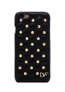 iPhone 6 Studded Quilted Leather Case