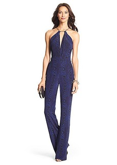 Ireland Open Back Silk Jumpsuit