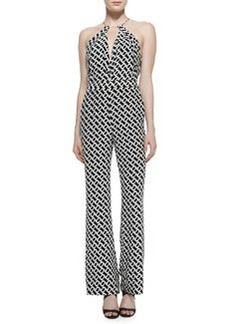 Ireland Silk Chain Link Jumpsuit   Ireland Silk Chain Link Jumpsuit