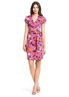 Jilda Two Silk Jersey Wrap Dress